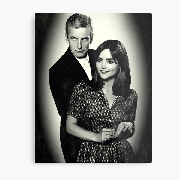 Dr. and Mrs. Oswald Metal Print