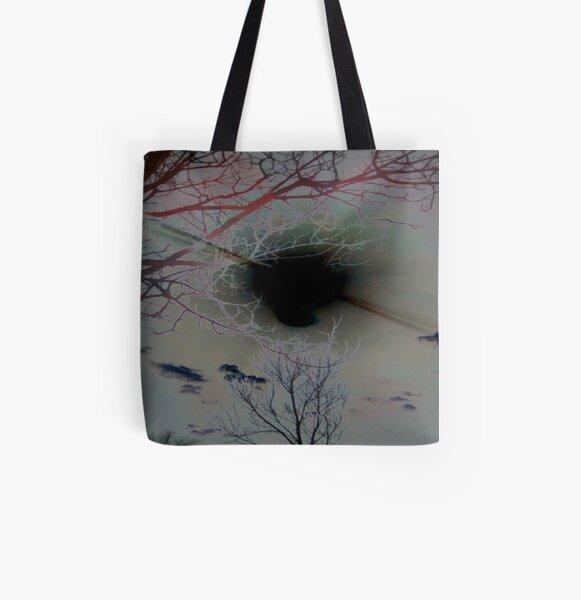 Black Hole Sun All Over Print Tote Bag