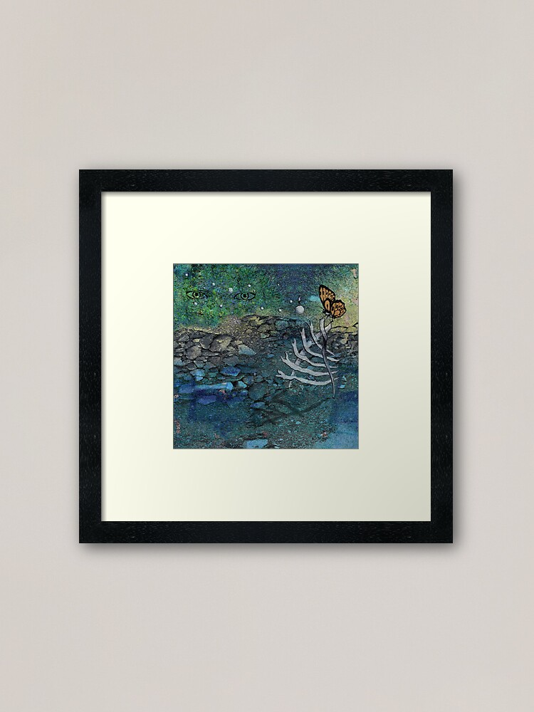 Alternate view of Messages from Beyond Framed Art Print