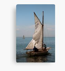 Heading Out to Sea, Queenscliff Canvas Print