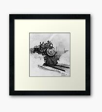Tarantula Train Framed Print