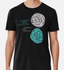 pungent dins concentric - Cover Art Premium T-Shirt