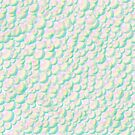 Soapy Rainbow Bubbles Seamless Background by Stacey Lynn Payne
