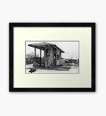Weigh Station Framed Print