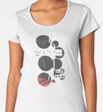 Nobody Is Ever Missing - Cover Art Premium Scoop T-Shirt