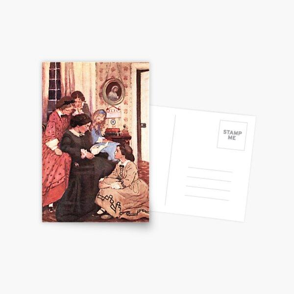 Jessie Willcox Smith - Little Women - The Letter Postcard