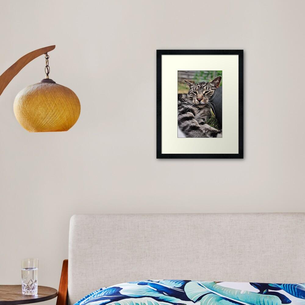 I Kneed a Pillow Framed Art Print