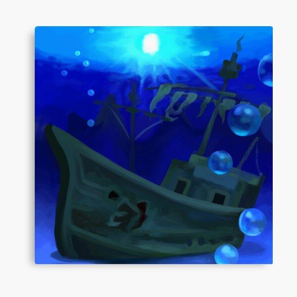Jolly Roger Bay Canvas Print
