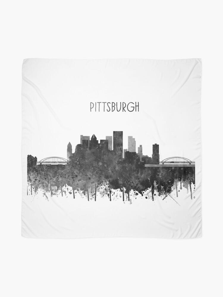 Alternate view of Pittsburgh, Pittsburgh Skyline Scarf