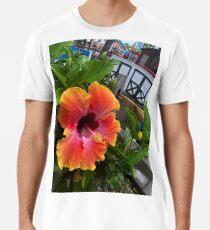tropische Blume Premium T-Shirt