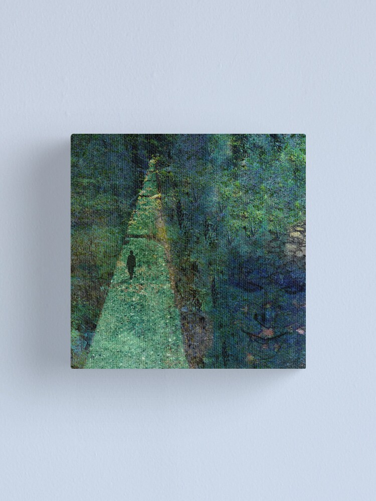 Alternate view of Path Best Walked Alone Canvas Print