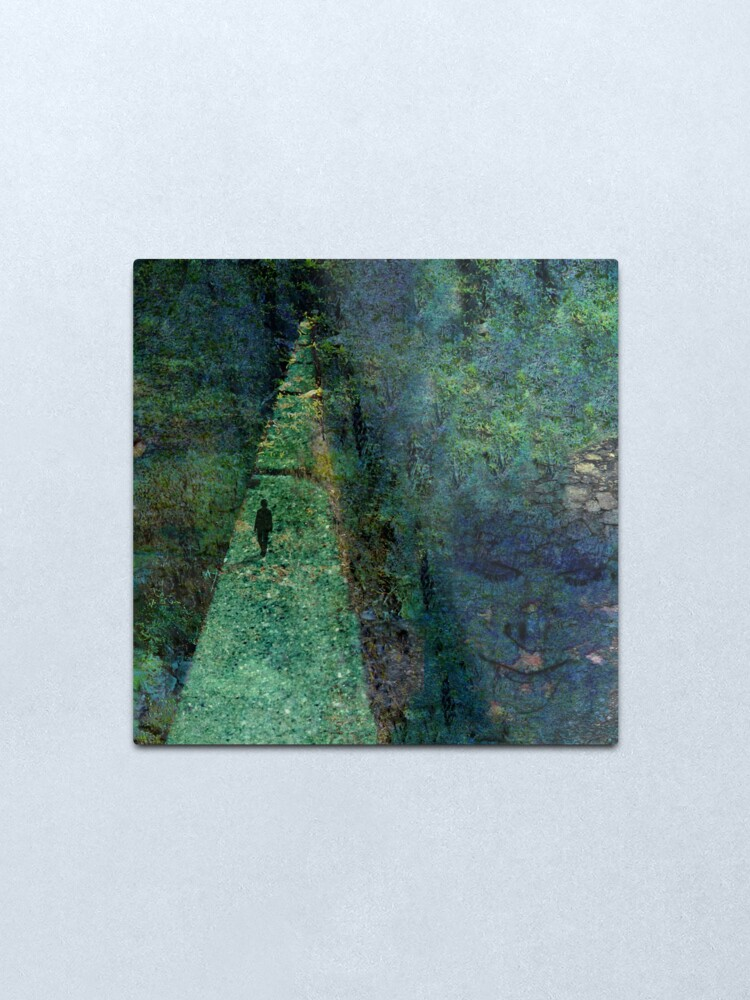Alternate view of Path Best Walked Alone Metal Print