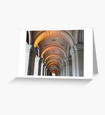 Melbourne GPO Greeting Card