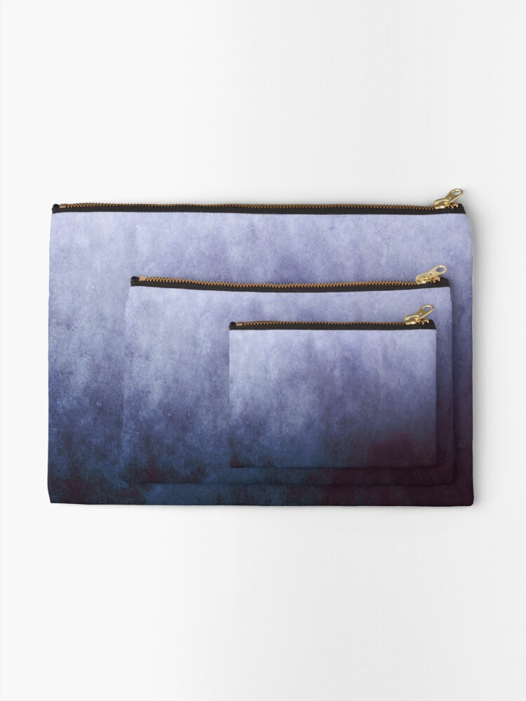 Alternate view of Abstract III Zipper Pouch