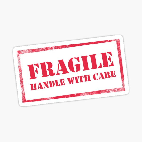 Fragile, Handle with Care Sticker