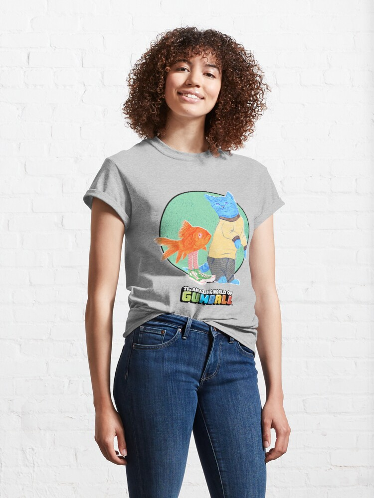 Alternate view of Real Gumball and Darwin Classic T-Shirt