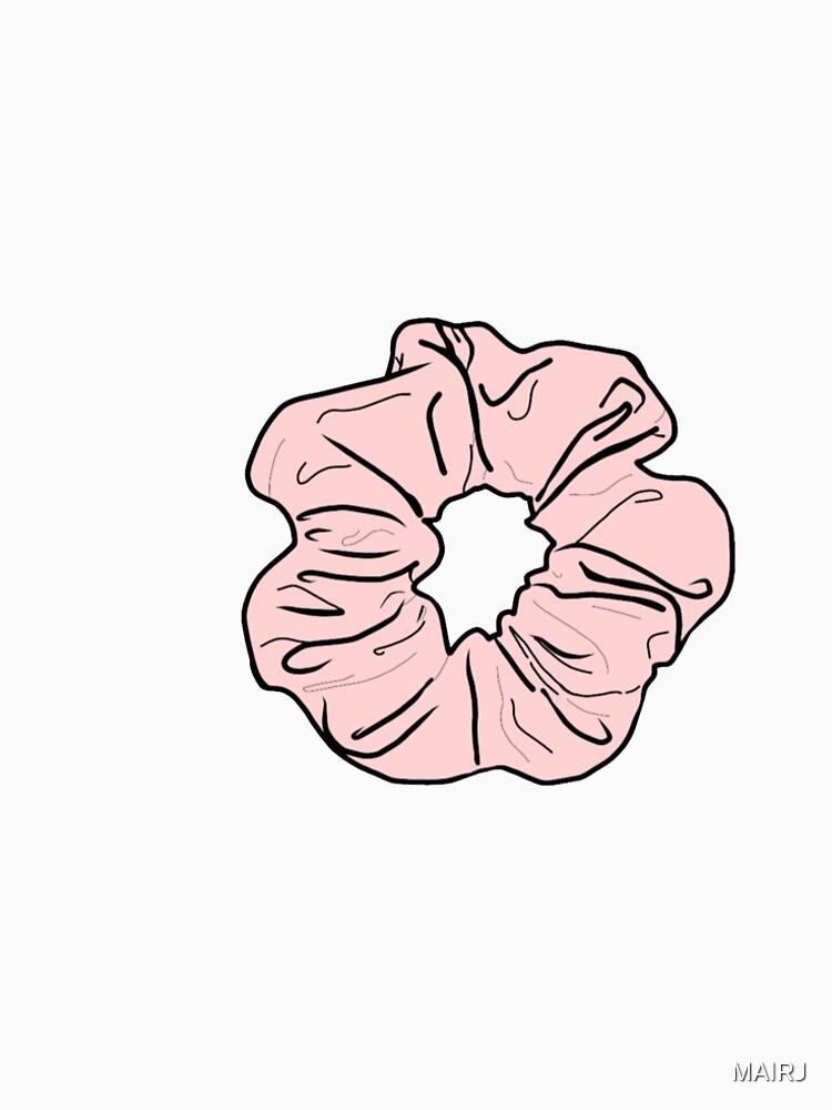 Rosa Scrunchie von MAIRJ