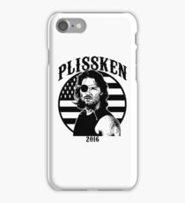 Plissken For President 2016 iPhone Case/Skin