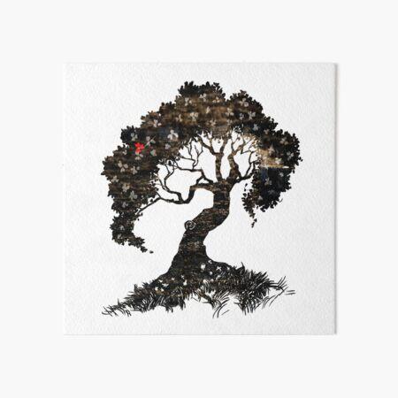 Treeeeeee! Tree! Tree! Art Board Print