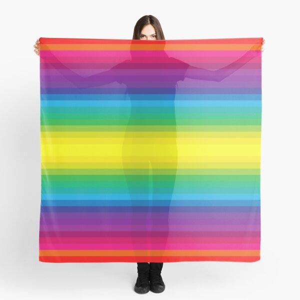 Rainbow Stripes I Scarf