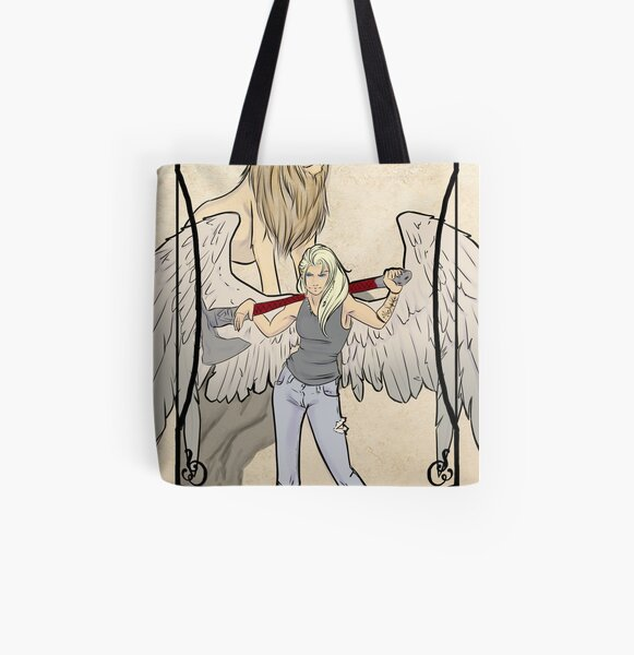 Strength All Over Print Tote Bag