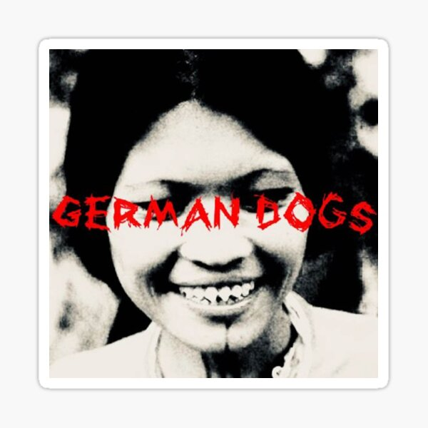 German dogs Sticker