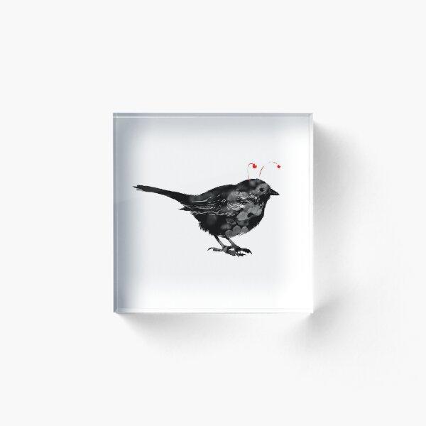 Antennabird! Acrylic Block