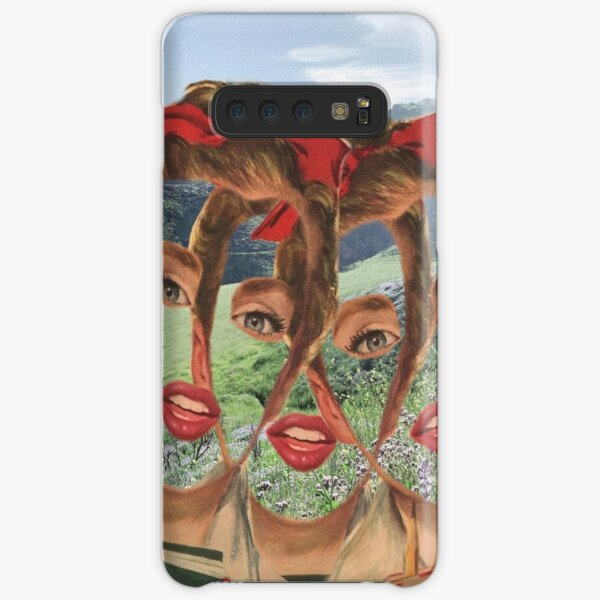 We Become Aware Of The Void As We Fill It Samsung Galaxy Snap Case