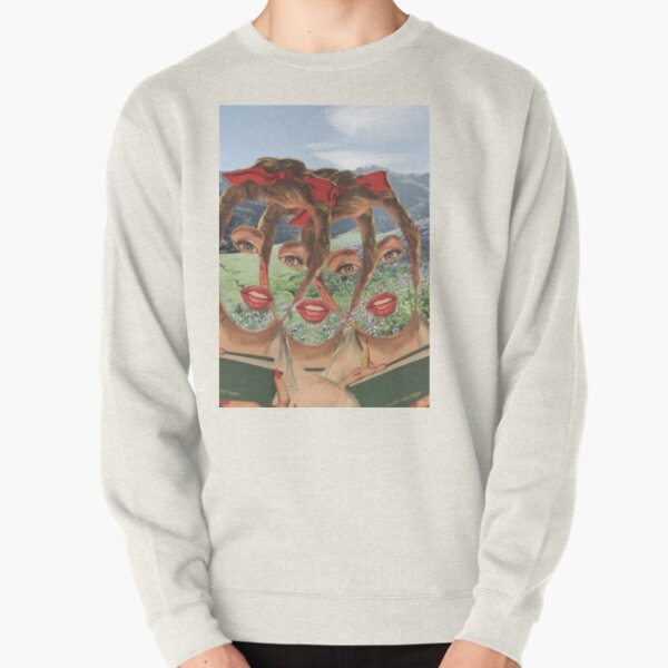 We Become Aware Of The Void As We Fill It Pullover Sweatshirt