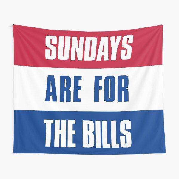 Sundays are for The Bills, Buffalo Football Tapestry