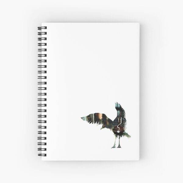 A Horrible Gull Waiting to Scab Your Chips Spiral Notebook