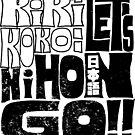 Kiki+Koko: Let's NihonGO!! [Groovy Retro Typography] by Indigo East by Indigo East
