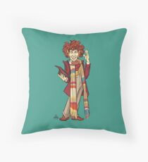 The Fourth Doctor [Who] Throw Pillow