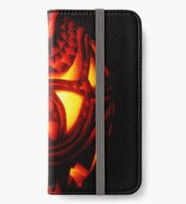 Ornate pumpkin carving iPhone Wallet/Case/Skin