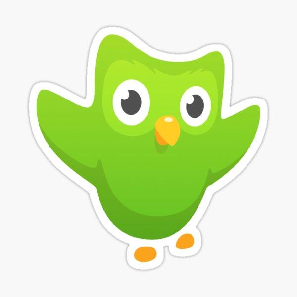 OG duolingo owl Sticker