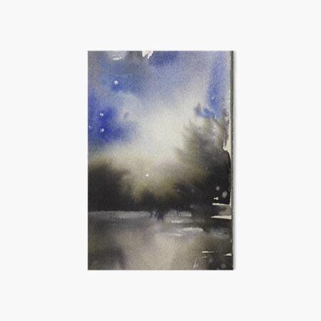 Laguna Blue Art Board Print