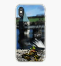 Pontsticill reservoir macro, portrait iPhone Case