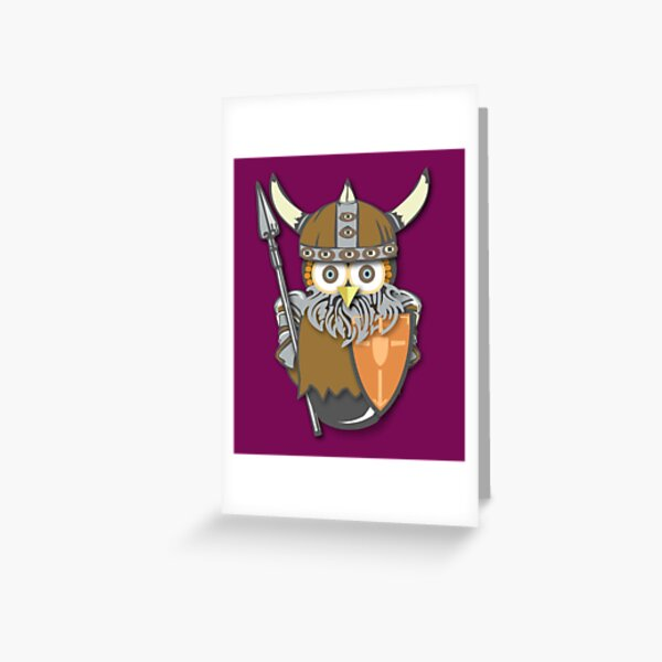 Workobeez VIKING! Greeting Card