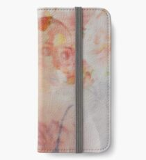 Floral portrait iPhone Wallet/Case/Skin