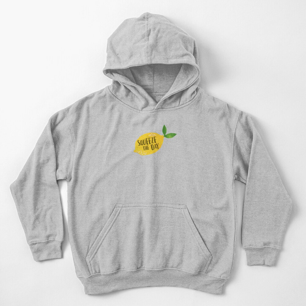 Squeeze the Day Kids Pullover Hoodie