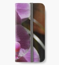 Orchids in sunlight iPhone Wallet/Case/Skin