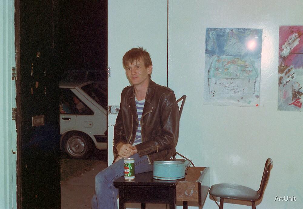Philip 'Charlie' Rees door bitch Art Unit 1983 by ArtUnit