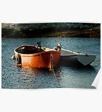 Fishing Boats ~ Peggy's Cove Nova Scotia Poster