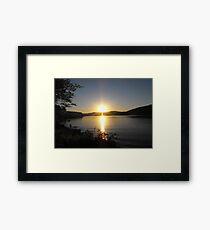 Willow Bay Framed Print