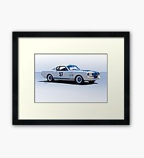 1965 Shelby Mustang GT350 Production GT Framed Print