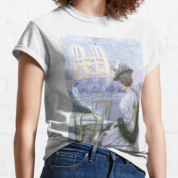 """Sylvius Paoletti """"Notre Dame de Paris"""" Classic T-Shirt"""
