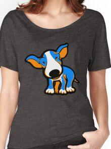 IrnBru English Bull Terrier Puppy  Women's Relaxed Fit T-Shirt