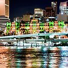Brisbane Fairy Lights by Aaron Holloway