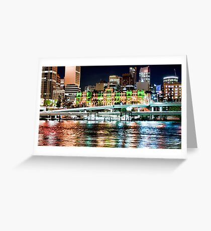 Brisbane Fairy Lights Greeting Card
