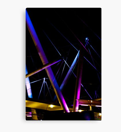 Kurilpa Lights Canvas Print